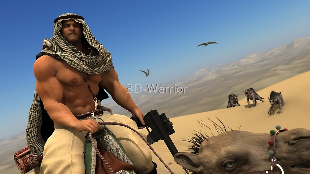 Desert Guard (II) by 3D-Warrior
