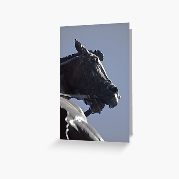 The Dragon Slayers Horse Greeting Card