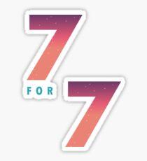GOT7 7 FOR 7 DARK Sticker