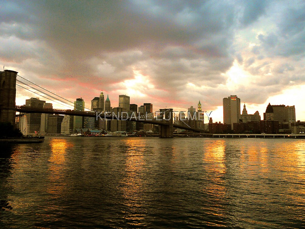BROOKLYN BRIDGE IN ALL ITS NATURAL GLORY by KENDALL EUTEMEY