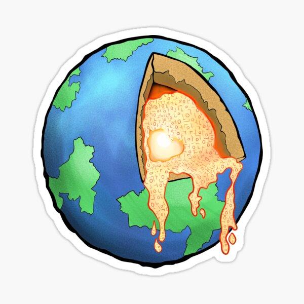 Earth's Insides Sticker