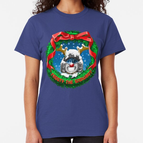 Frosty the Snowbot Classic T-Shirt