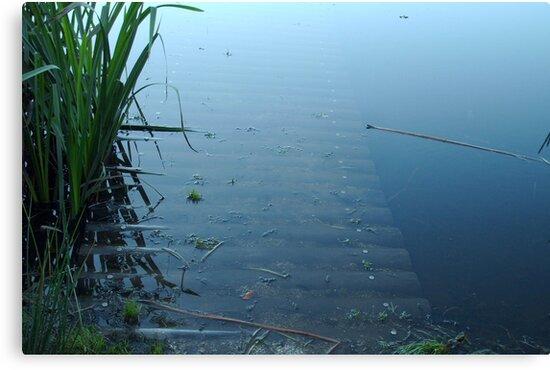 Under Water - bridge by ienemien