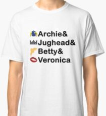 Riverdale Names Classic T-Shirt