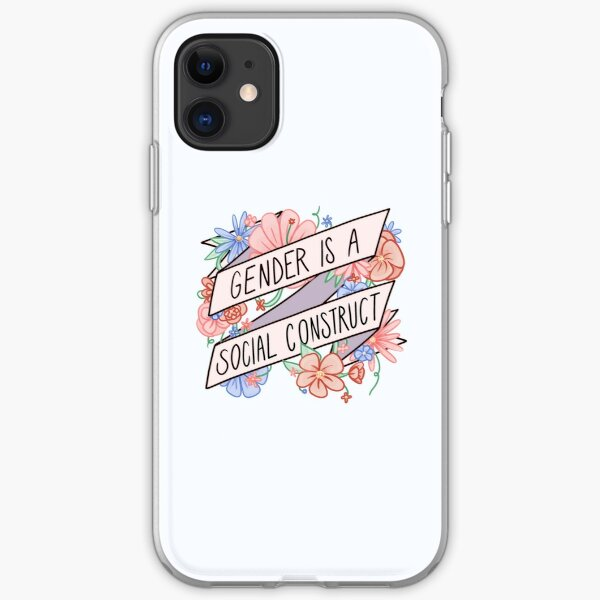Gender Is A Social Construct iPhone Soft Case