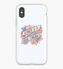 Gender Is A Social Construct iPhone Case