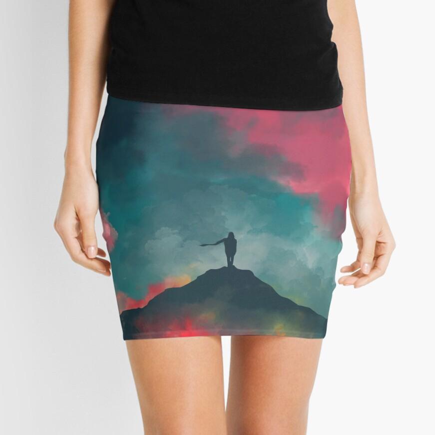 Anxieties Away Mini Skirt