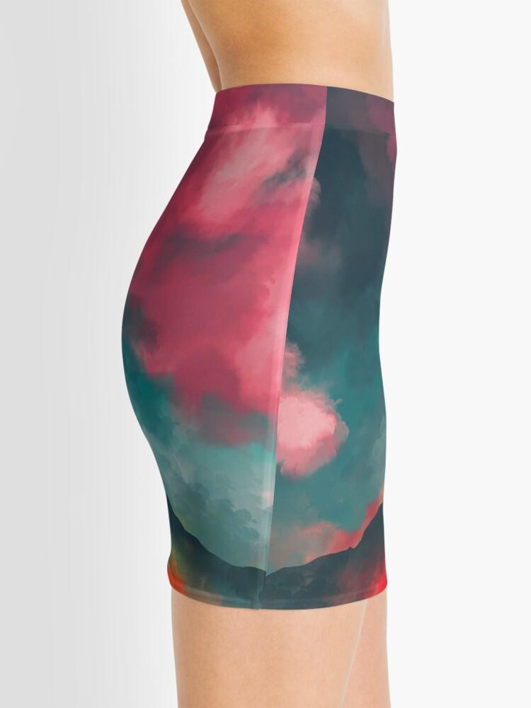 Alternate view of Anxieties Away Mini Skirt