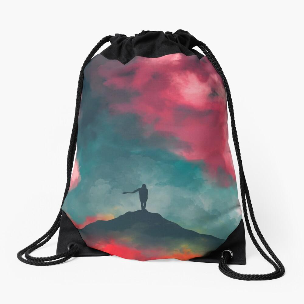 Anxieties Away Drawstring Bag