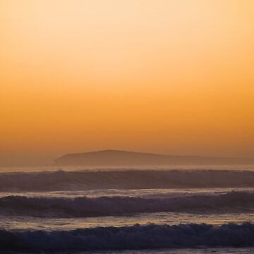 wedge island sunset 2 by colhellmuth
