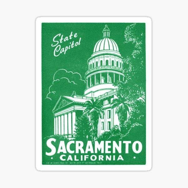 1940 Sacramento California Sticker