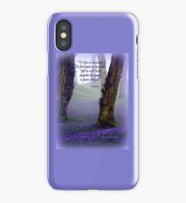 Bluebells and Rumi iPhone Case
