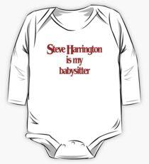Steve Harrington is my babysitter One Piece - Long Sleeve