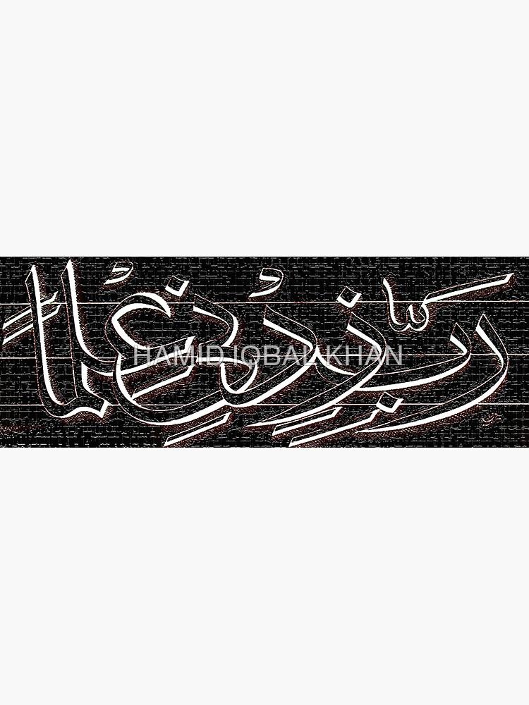Rabbi Zidni elma Painting by hamidsart