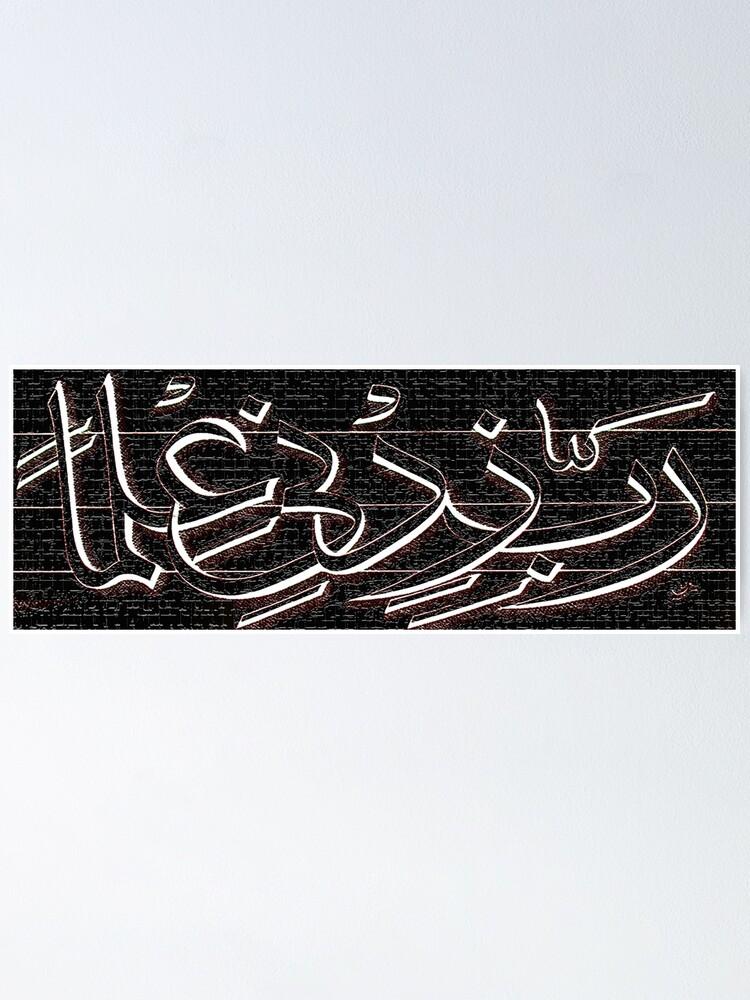 Alternate view of Rabbi Zidni elma Painting Poster