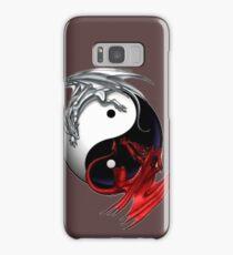 dragon ying yang Samsung Galaxy Case/Skin