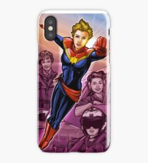 Strong Female Super Hero iPhone Case