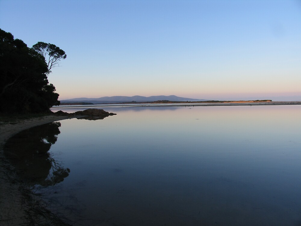 mallacoota inlet by dave whyte