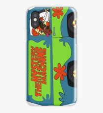Mystery Machine Van Scooby Doo iPhone Case/Skin