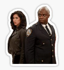 holt and rosa Sticker