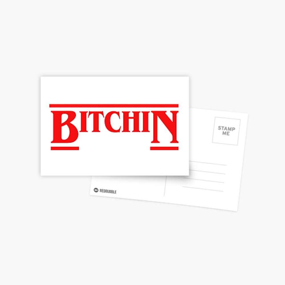BITCHIN STRANGER THINGS SOLID Postal