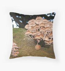 funghi Throw Pillow