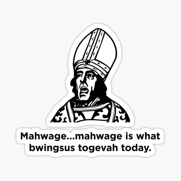 Marriage Sticker