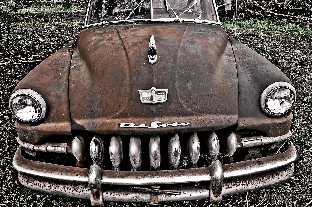 rusty and really crusty by Bill Manocchio