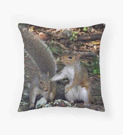 tag - you're it! Throw Pillow