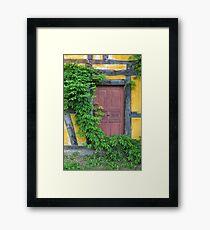 Hidden Door Framed Print