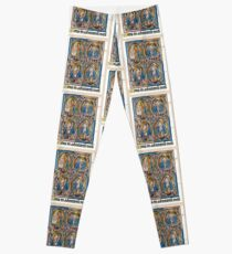 Illuminated New Testaments Christ Judged Leggings