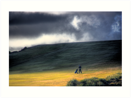 The Golfer by Mark Richards