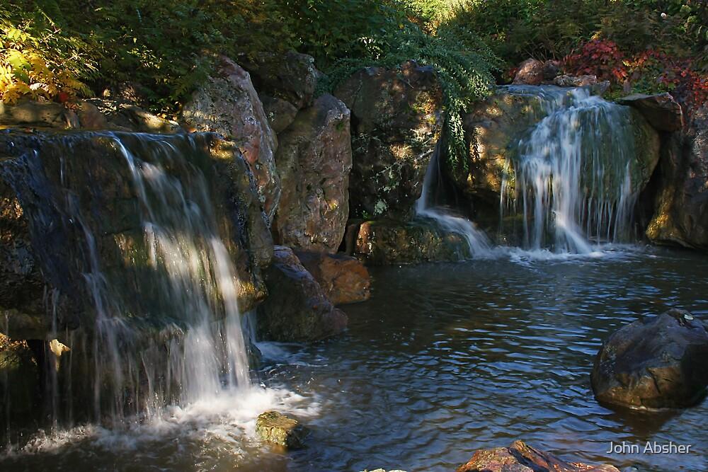 Waterfall by John Absher