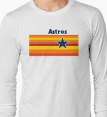 Houston Astros rainbow uniform T-Shirt