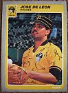 333 - Jose DeLeon by Foob's Baseball Cards