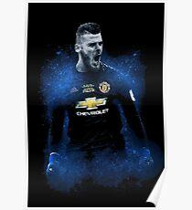 de gea - best goalkeeper on premiere league Poster