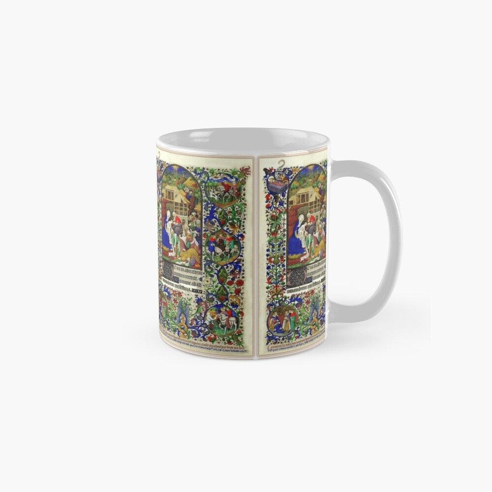 Illuminated New Testaments Adoration of Baby Jesus Mugs