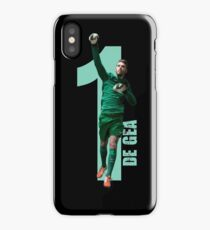 de gea - To design something really new and innovative you have to reject reaso iPhone Case/Skin