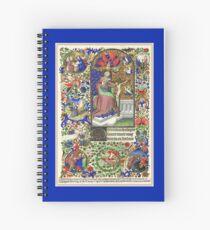 Illuminated New Testaments Mercy on Christ Spiral Notebook