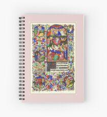 Illuminated New Testaments Assumption of Virgin Mary Spiral Notebook
