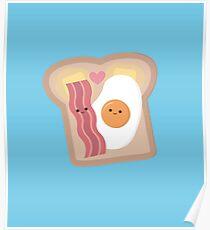 Bacon + Egg Poster