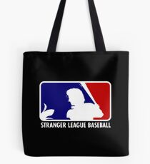 Stranger League Baseball Tote Bag