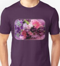 A Passion for Pink and Purple Slim Fit T-Shirt