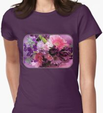 A Passion for Pink and Purple Women's Fitted T-Shirt