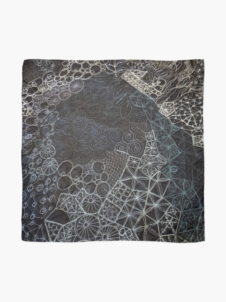 Alternate view of Rockpool - Midnight  Scarf