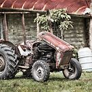 Old tractor 6510 by kevin chippindall