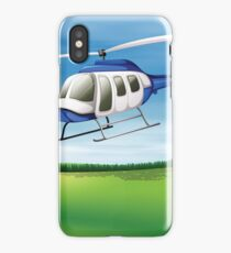 Landing Helicopter iPhone Case/Skin