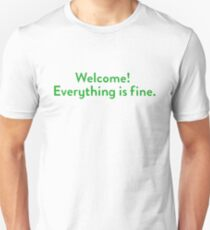 The Good Place Welcome Wall Unisex T-Shirt