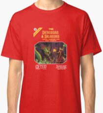 Dungeons and Dragons Basic Rulebook (Remastered) Classic T-Shirt