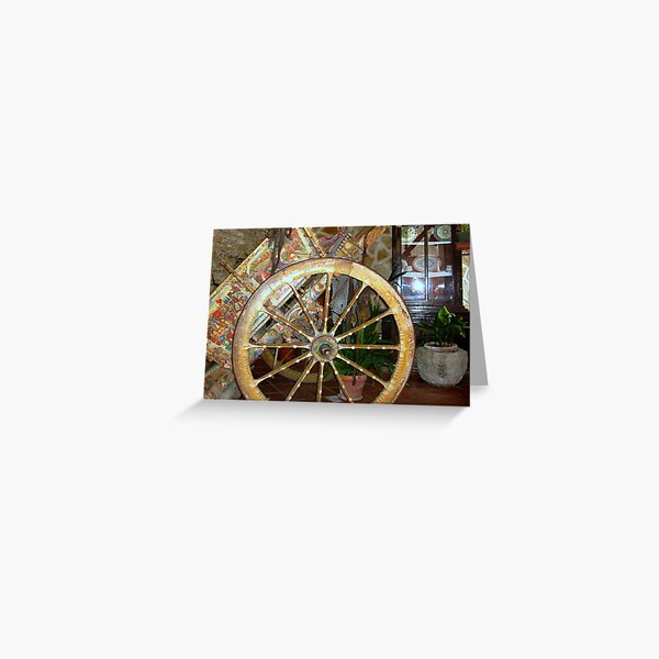 Sicilian Carriage_the Painting Greeting Card